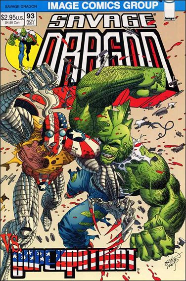 Savage Dragon (1993) 93-A by Image