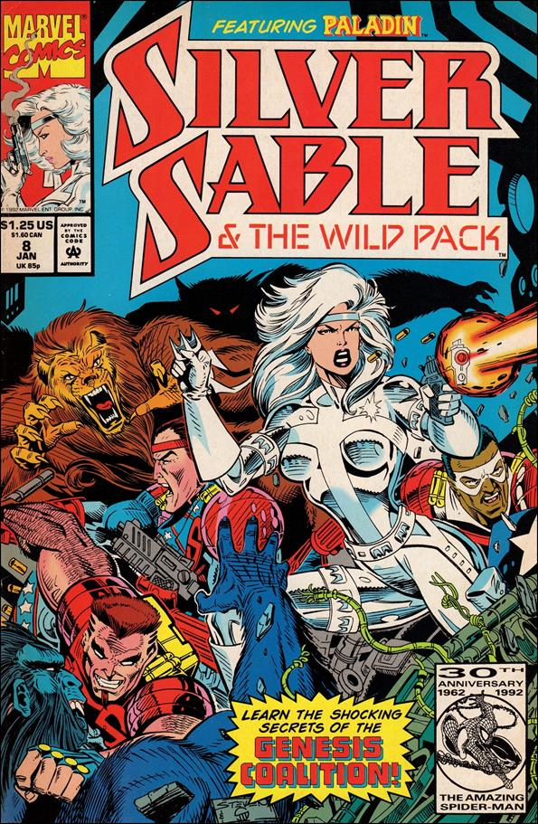 Silver Sable & The Wild Pack 8-A by Marvel