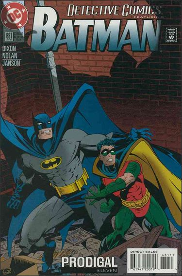 Detective Comics (1937) 681-A by DC