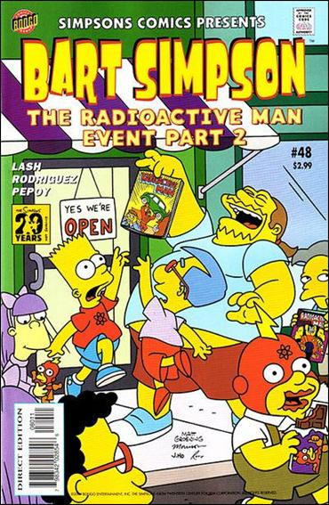 Simpsons Comics Presents Bart Simpson 48-A by Bongo