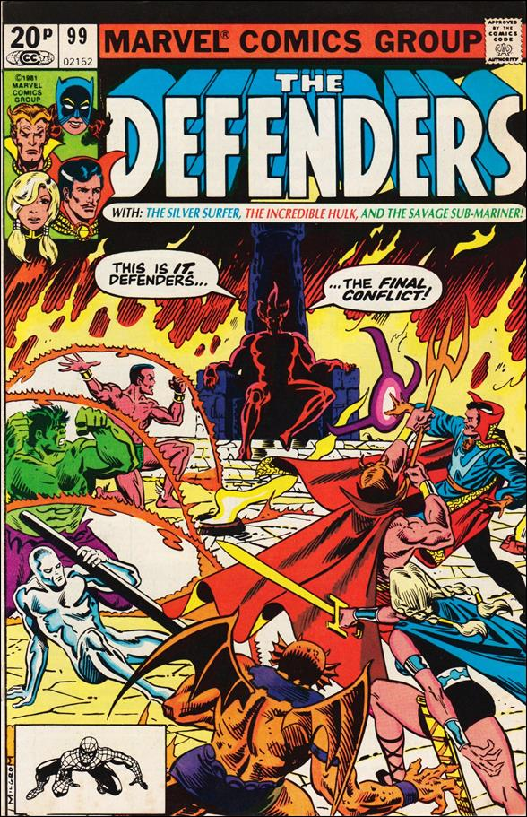 Defenders (1972) 99-B by Marvel
