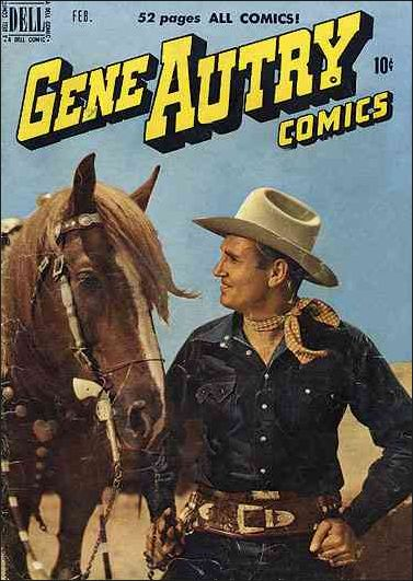 Gene Autry Comics (1946) 36-A by Dell