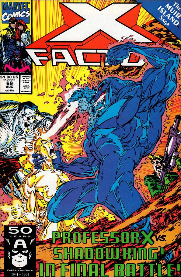 X-Factor (1986) 69-A by Marvel