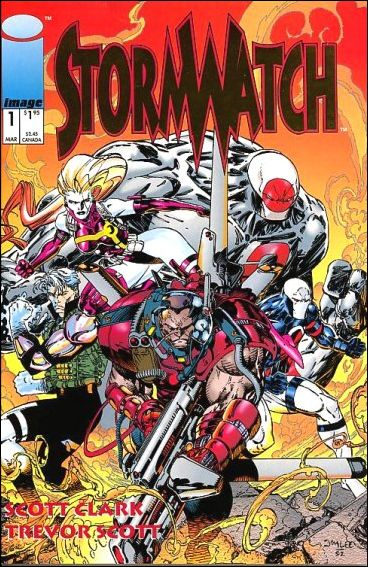 StormWatch (1993) 1-B by Image