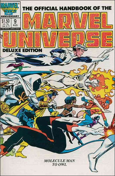 Official Handbook of the Marvel Universe (1985) 9-A by Marvel