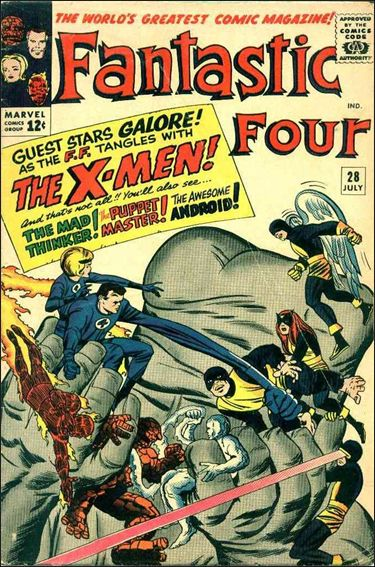 Fantastic Four (1961) 28-A by Marvel