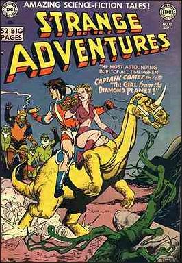 Strange Adventures (1950) 12-A by DC