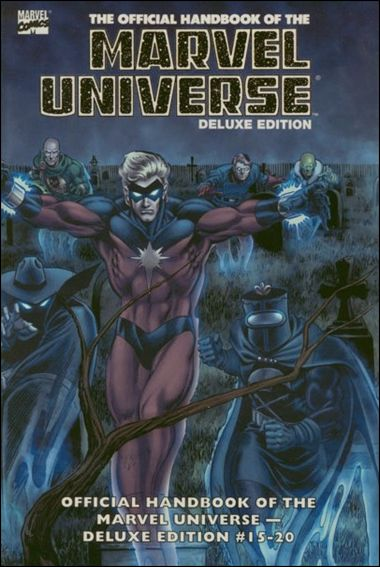 Essential Official Handbook of the Marvel Universe - Deluxe Edition 3-A by Marvel