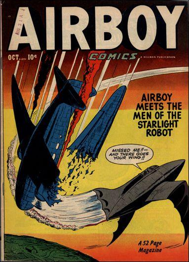 Airboy Comics (1950) 9-A by Hillman