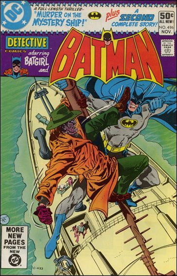 Detective Comics (1937) 496-A by DC