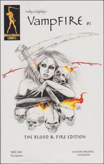 VampFire (2000) 1-C by BroadSword Comics