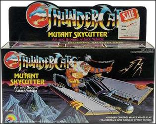 ThunderCats (1985) Vehicles and Accessories Mutant Skycutter by LJN