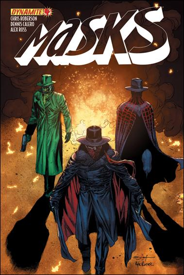 Masks 4-B by Dynamite Entertainment
