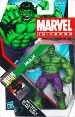 Marvel Universe (Series 4) Hulk by Hasbro