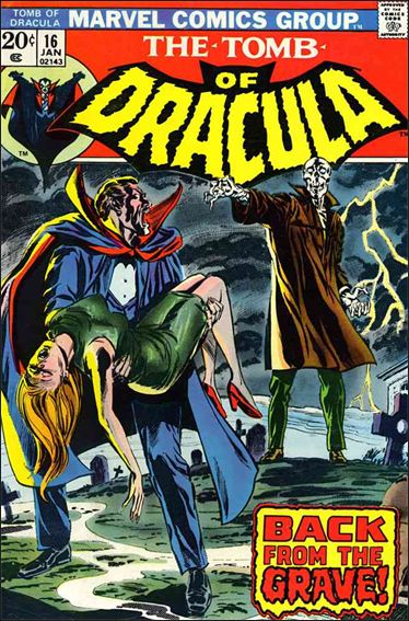 Tomb of Dracula (1972) 16-A by Marvel