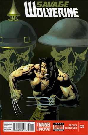 Savage Wolverine 22-A