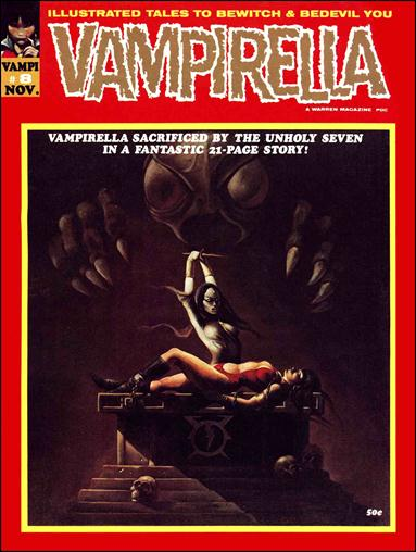 Vampirella 8-A by Warren