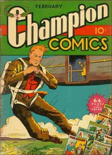 Champion Comics 4-A by Harvey