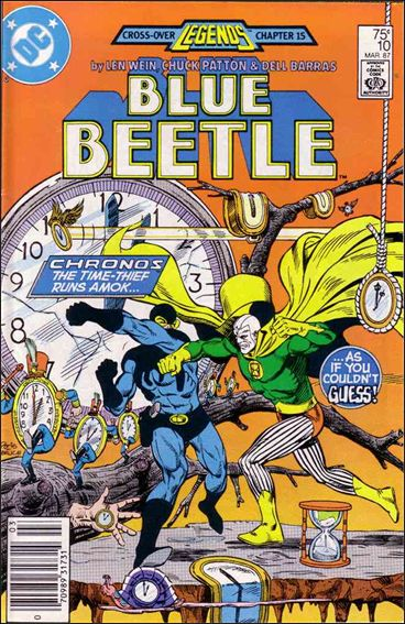Blue Beetle (1986) 10-A by DC