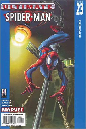 Ultimate Spider-Man 23 A, Aug 2002 Comic Book by Marvel