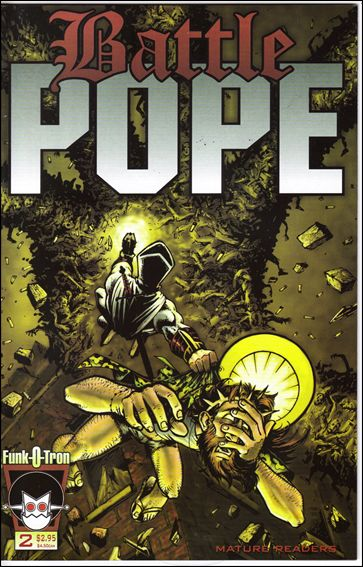 Battle Pope 2-A by Funk-O-Tron