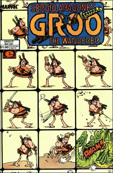 Sergio Aragones Groo the Wanderer 27-A by Epic