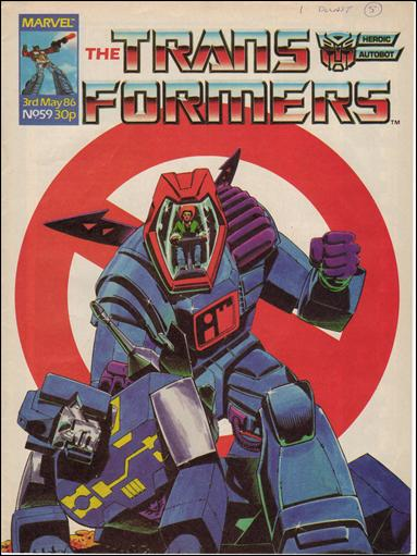 Transformers (UK) 59-A by Marvel UK