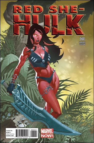 Red She-Hulk 60-B by Marvel