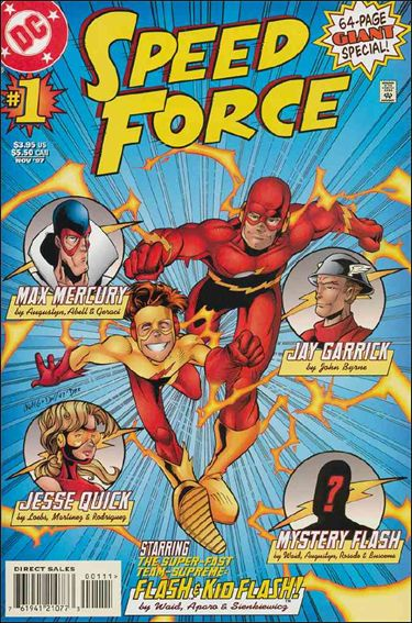 Speed Force 1-A by DC
