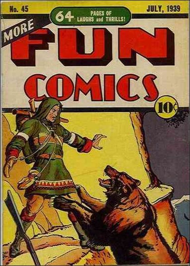 More Fun Comics 45-A by DC