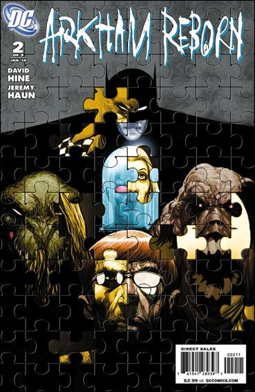 Arkham Reborn 2-A by DC