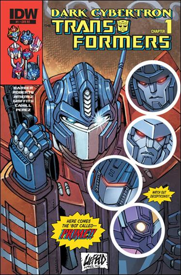 Transformers: Dark Cybertron 1-E by IDW