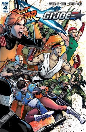 Street Fighter x G.I. Joe 4-A