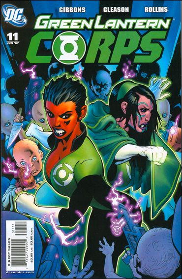 Green Lantern Corps (2006) 11-A by DC
