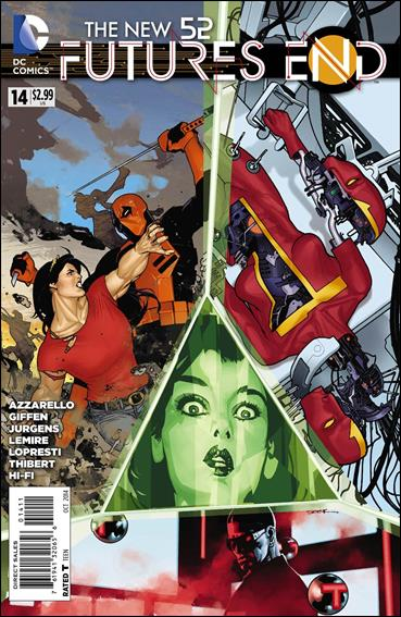 New 52: Futures End  14-A by DC