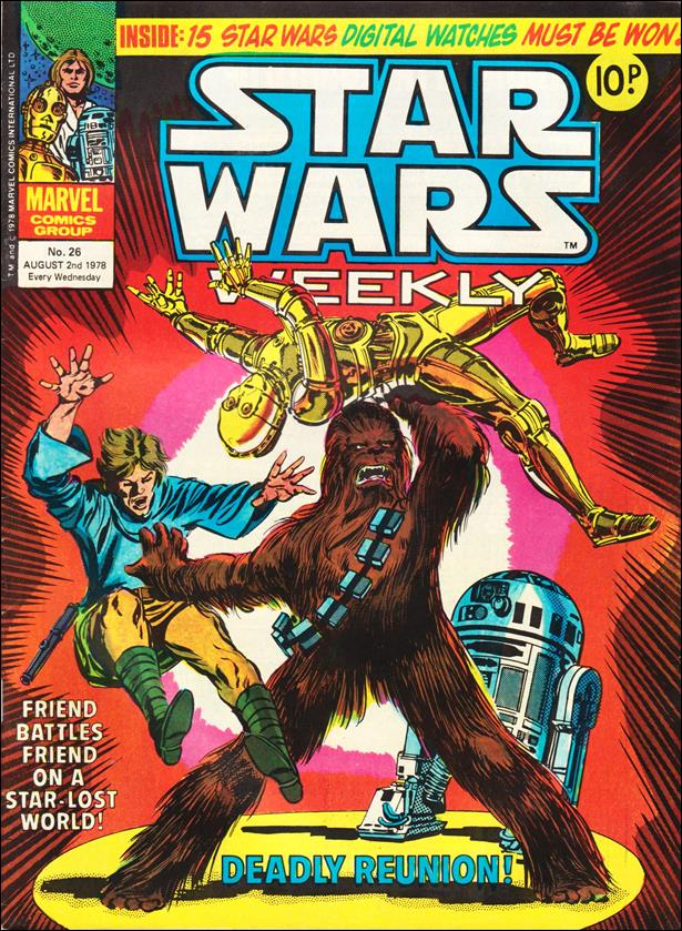 Star Wars Weekly (UK) 26-A by Marvel UK