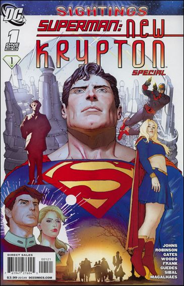 Superman: New Krypton Special 1-B by DC