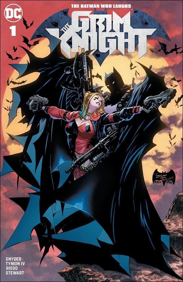 Batman Who Laughs: The Grim Knight 1-D by DC