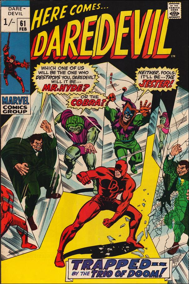 Daredevil (1964) 61-B by Marvel