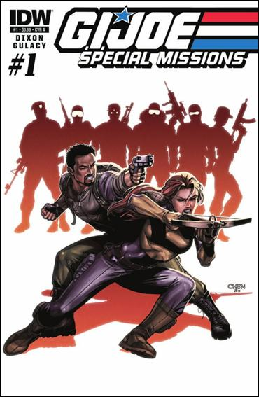 G.I. Joe: Special Missions (2013) 1-A by IDW