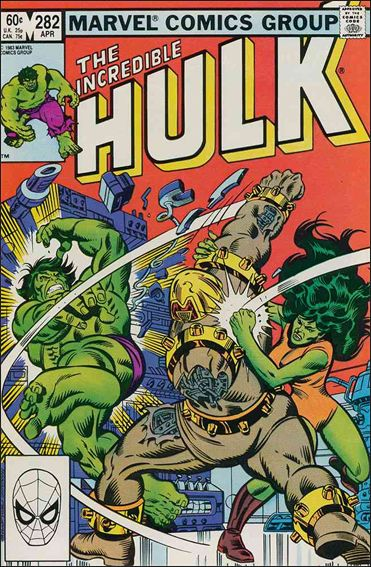 Incredible Hulk (1968) 282-A by Marvel