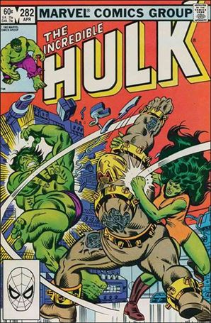 Incredible Hulk (1968) 282-A