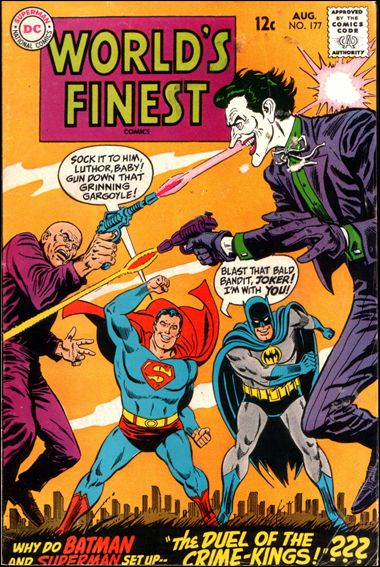 World's Finest Comics 177-A by DC