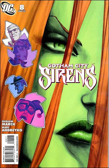 Gotham City Sirens 8-A by DC