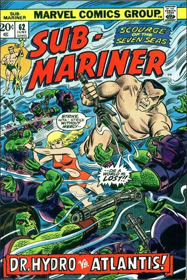 Sub-Mariner (1968) 62-A by Marvel