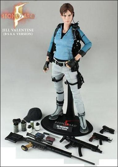 Resident Evil 5 Jill Valentine B S A A Outfit Jan 2010 Action