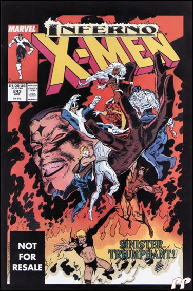 Uncanny X-Men (1981) 243-B by Marvel