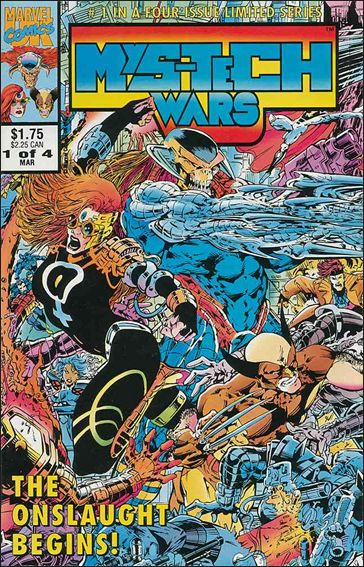 MyS-TECH Wars (UK) 1-A by Marvel UK