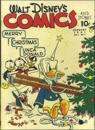 Walt Disney's Comics and Stories (1940) 4-A by Dell