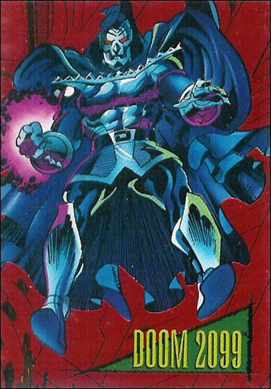 Marvel Universe: Series 4 (2099 Red Foil-Stamped Subset) 1-A by SkyBox